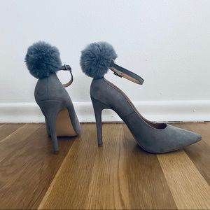ASOS truffle collection  pompom heels